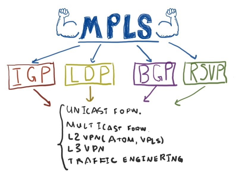 MPLS/LDP for IPv4 and IPv6 in Nokia (Alcatel-Lucent) SR and Cisco
