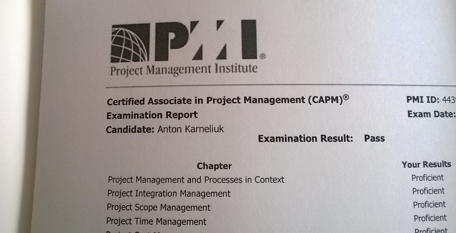 capm project management