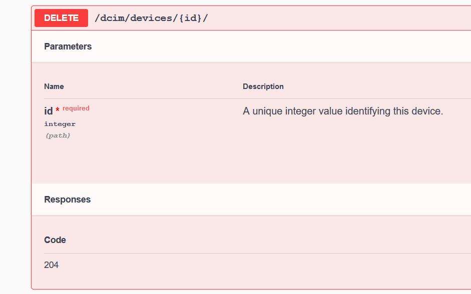 NetBox // REST API documentation for DELETE